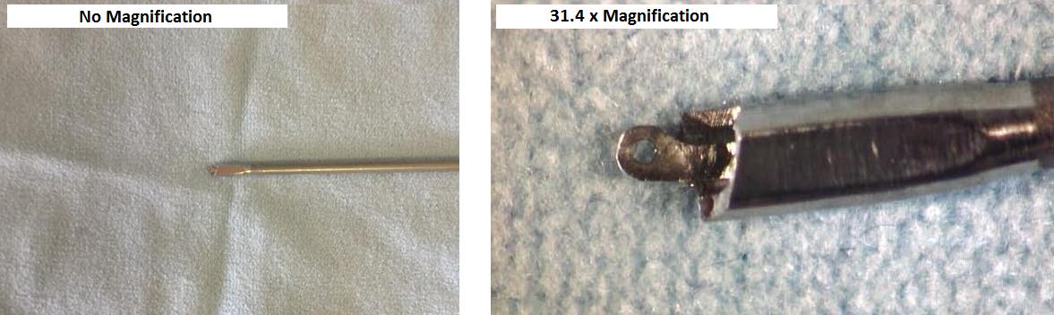 QA Magnispect High Definition Magnifier Surgical Instrument Comparison